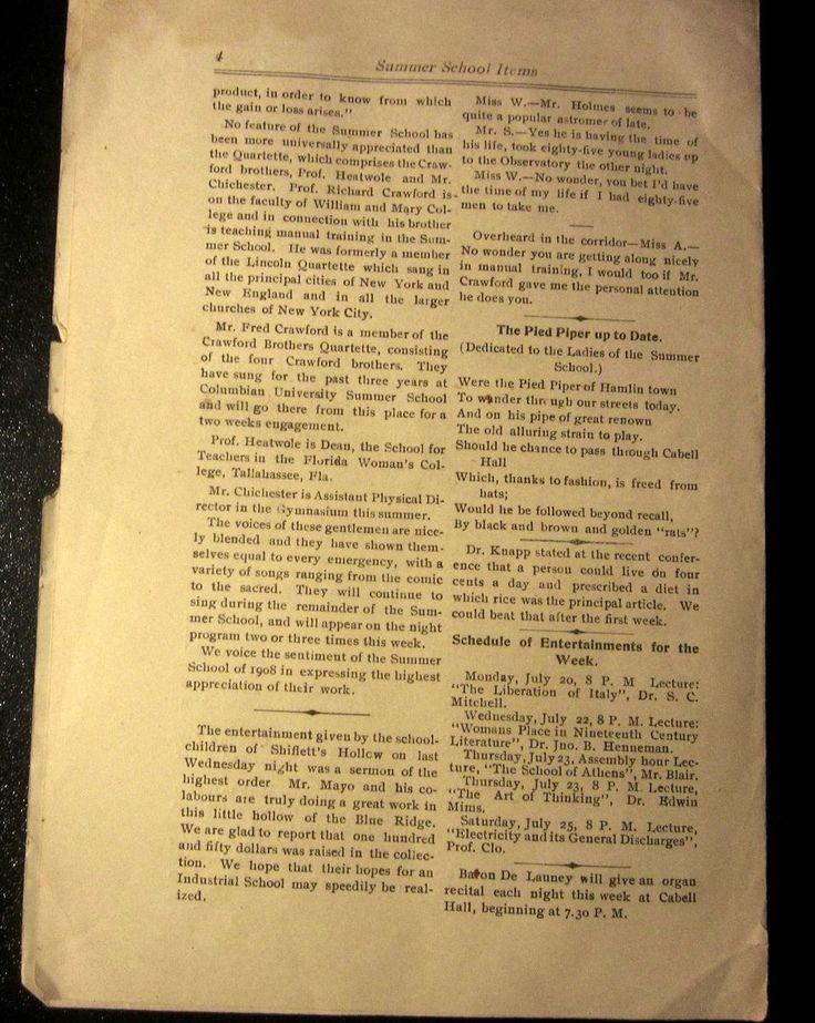 http://www.ebay.com/itm/1908-Summer-School-Items-Newspaper-University-of-Virginia-UVA-Charlottesville-/141911782140?hash=item210a99f2fc:g:~MIAAOSw~OVWzbs8