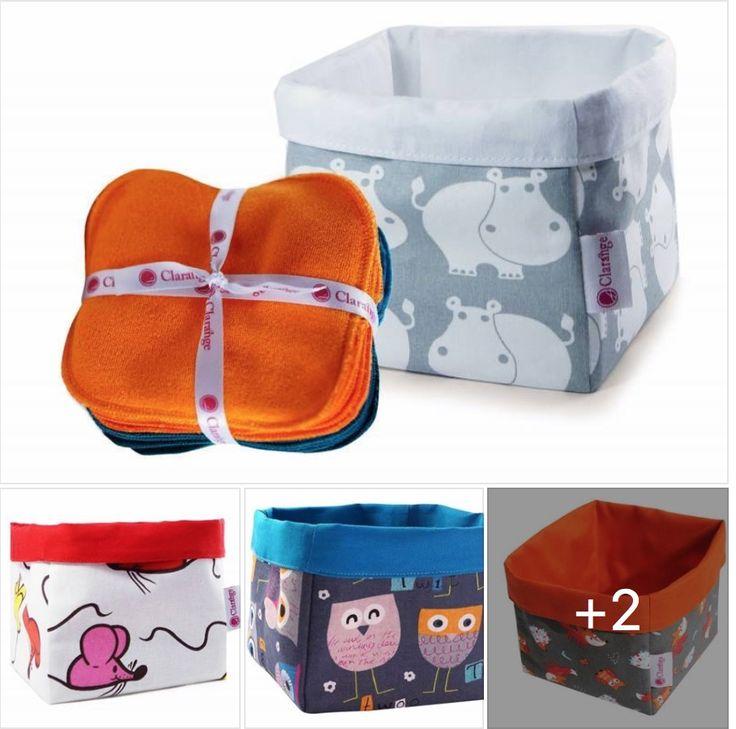 #LundiProduit Parce que les #fesses de #bébé réclament aussi de la douceur, Clarange a pensé aussi à ce petit détail pourtant si important. Surtout quand on veut éviter les petites #rougeurs et #irritations. Et il faut bien les ranger, n'est-ce pas !?! Quelle # box trouvez-vous la plus mignonne ?