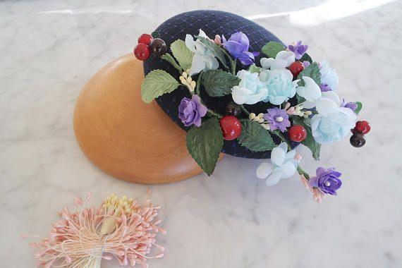 Reserved Cocktail hat Fascinator hat Derby hat Mini hat
