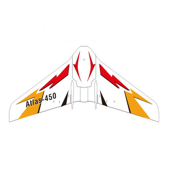 Oversky Atlas-450 450mm Wingspan Micro FPV Racing Flying Wing RC Aircraft BNF