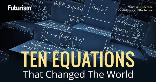 If you want to understand the fabric of the cosmos, you need to understand the language in which it is written - equations.