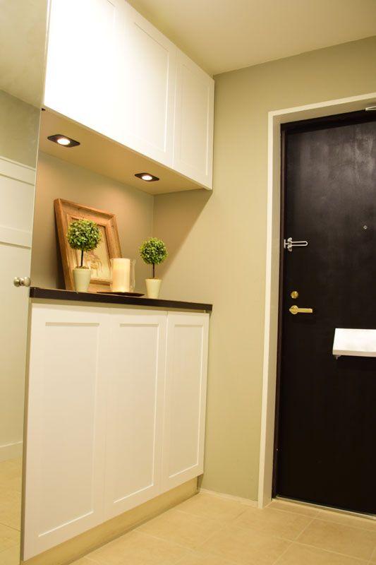 DIY&リフォームで玄関・廊下をグレードアップ#8 〜下駄箱のキャビネット扉とカウンター〜