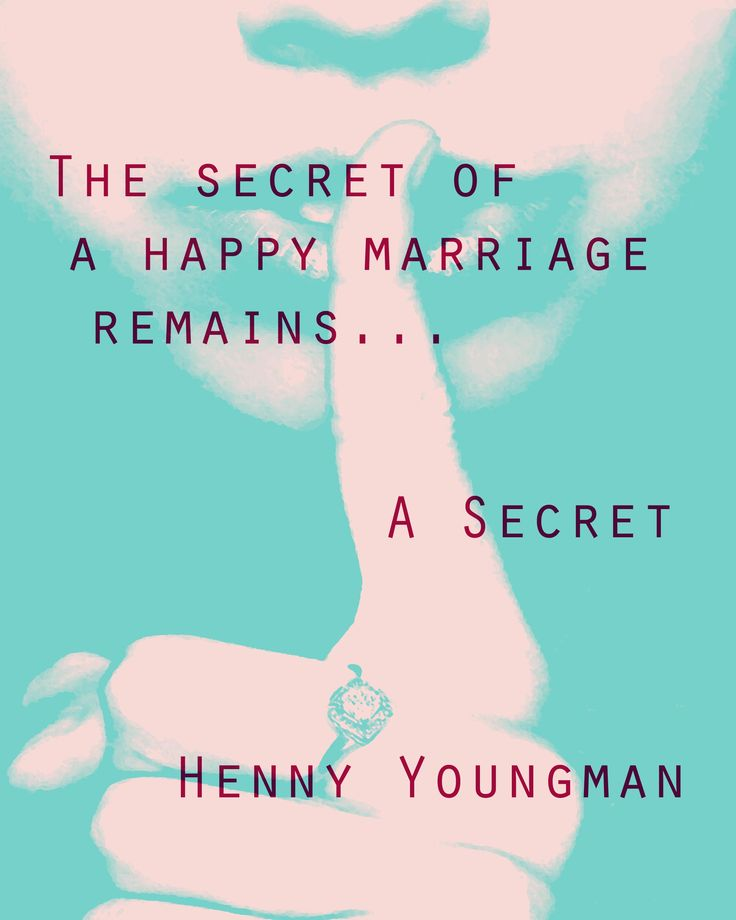 The secret to a happy marriage......#quotes about #marriage from MirthinaBlog.com