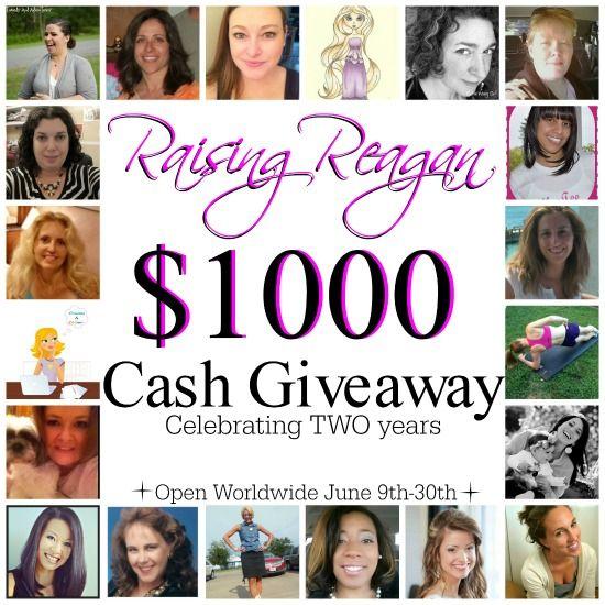 Raising Reagan's Giveaway
