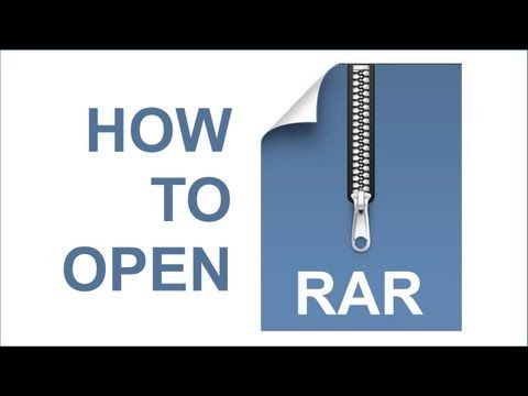 How to Open and Extract Rar Files - Using Free Opener - Open rar files with 7 zip #Roshal #Archive #Files