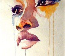 Вдохновляющая картинка искусство, красиво, нарисованное, рисунок, девушка, губы, живопись, грустно, акварель, 2681474 - Размер 358x550px - Найдите картинки на Ваш вкус