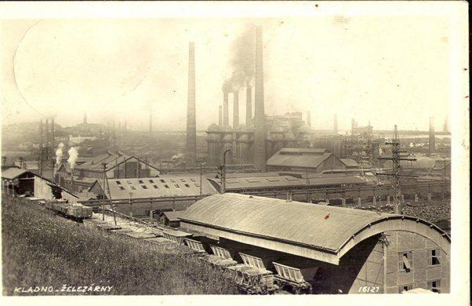 Kladno - železárny