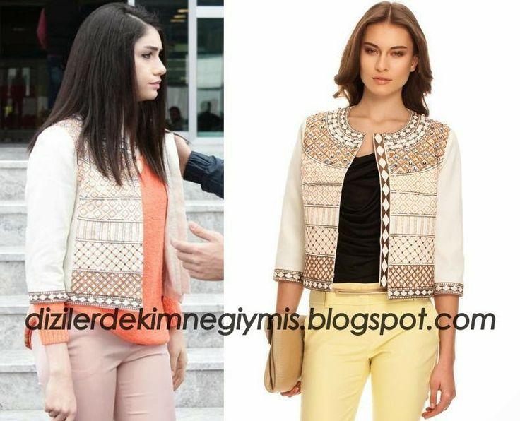 Medcezir - Eyll (Hazar Ergl), Pastel Jacket please follow me,thank you i will refollow you later