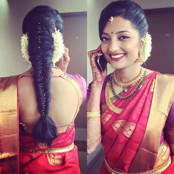 Indian Wedding Braid Hairstyles: French Plait Hairstyles For Indian Weddings