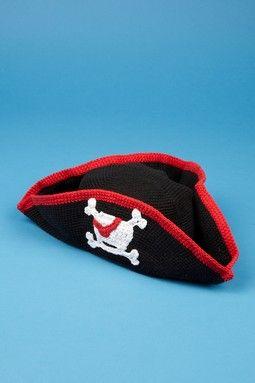 Pirate Cotton Crochet Hat