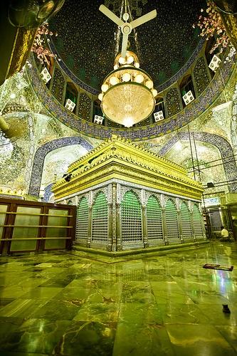 Shrine of Imam Ali peace be upon him .. Iraq -