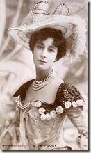 "carte postale ""Liane de Pougy"""