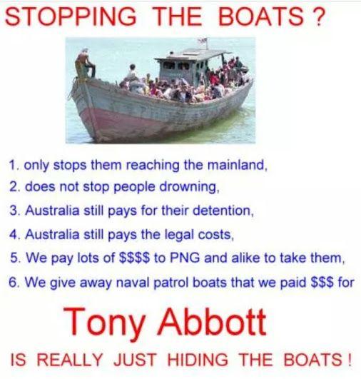 Hide da Boatz #Auspol