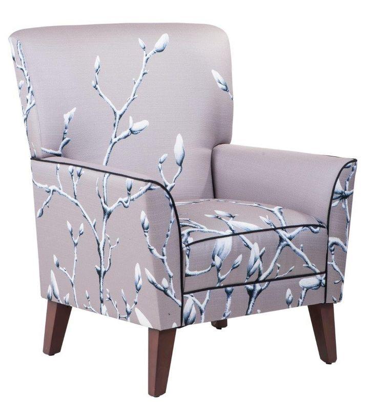 Tempo lounge chair in Twigs Stone #materialisedfabrics #fabricsfortherealworld #performancefabrics