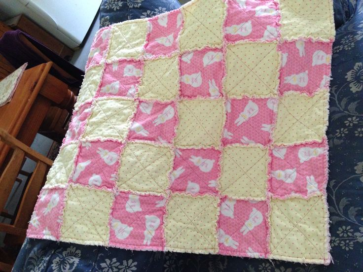 Flannel quilt for Lucy