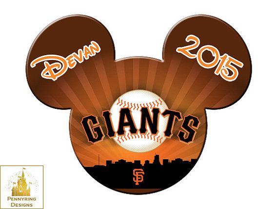 This Is A Fun San Francisco Giants Mlb Mickey Mouse Custom