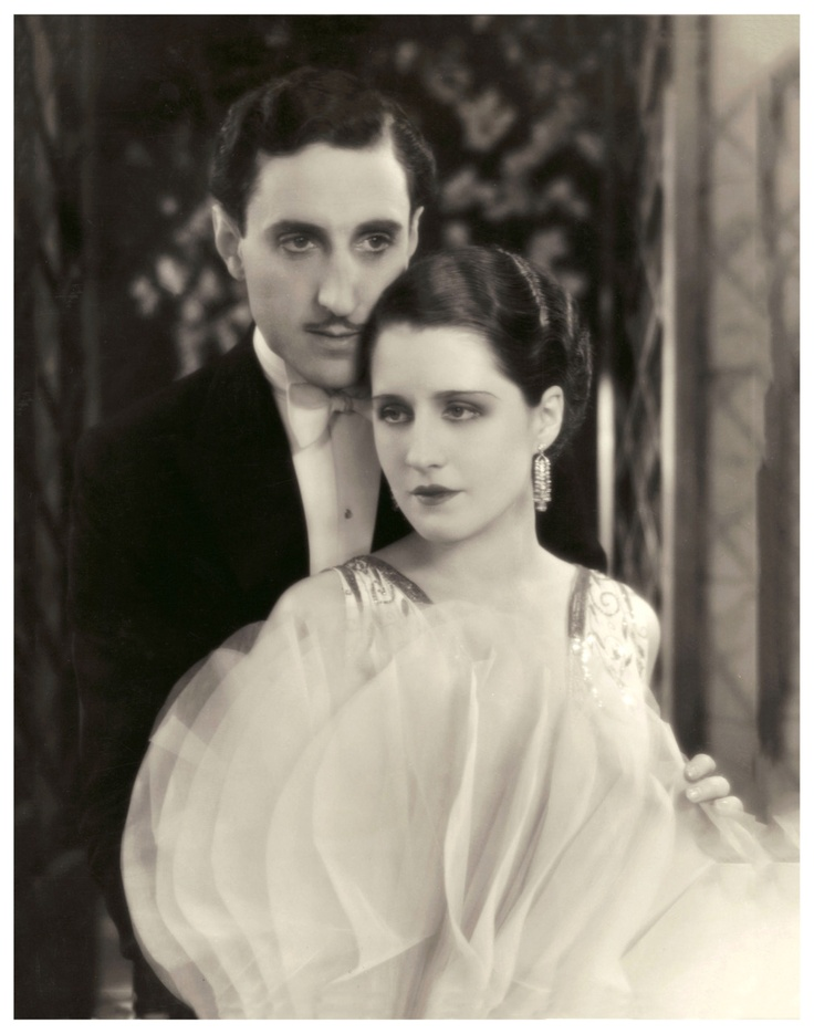 Norma Shearer and Basil Rathbone in The Last of Mrs. Cheyney (1929)