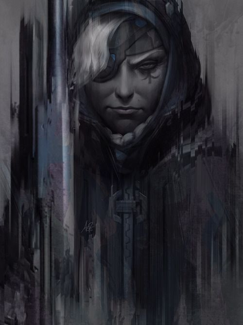 Ana - Overwatch  fan art by Artgerm (Stanley Lau)More Overwatch... #InspireArt…