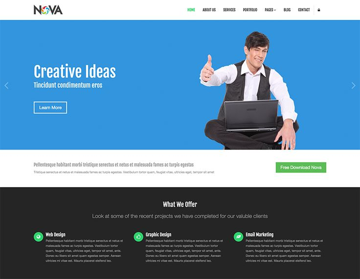 the best responsive free html website templates coded with and free premium and mobile friendly templates for business ecommerce fashion and more
