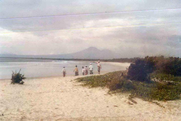 Kuta beach 1970