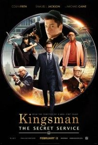 Really funny movies to watch ... Action Comedy, Kingsman: The Secret Service starring Colin Firth, Samuel L. Jackson and Michael Cain.