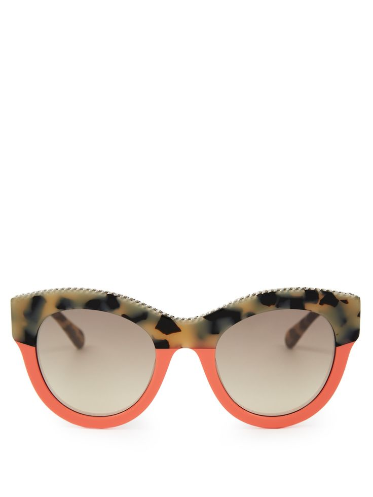 Falabella cat-eye sunglasses | Stella McCartney | MATCHESFASHION.COM UK