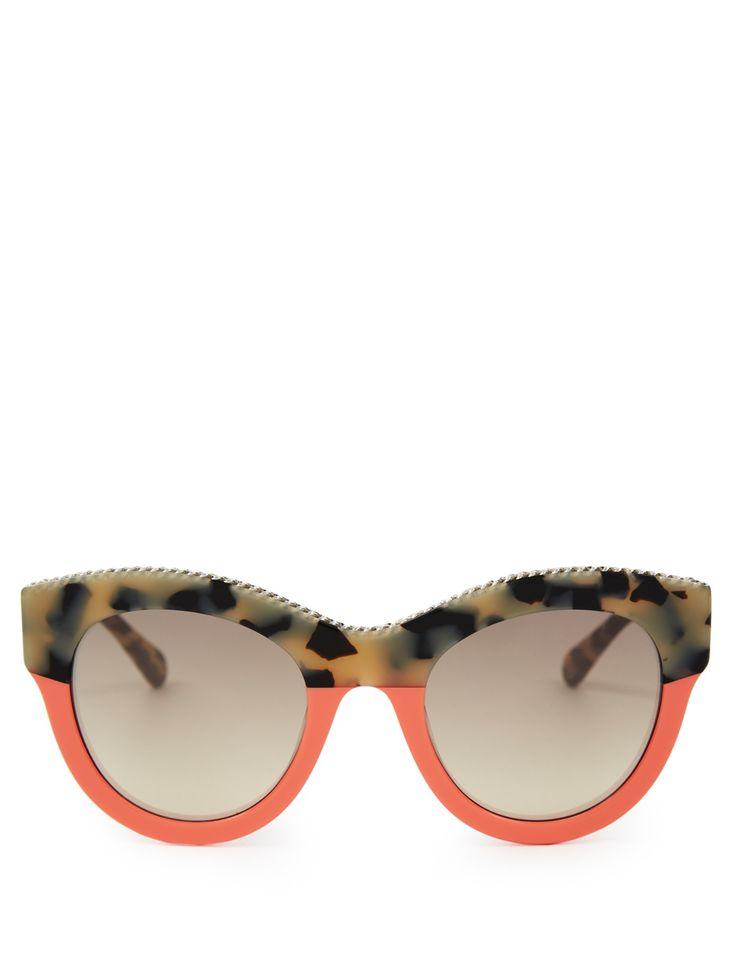 Falabella cat-eye sunglasses | Stella McCartney | MATCHESFASHION.COM UK