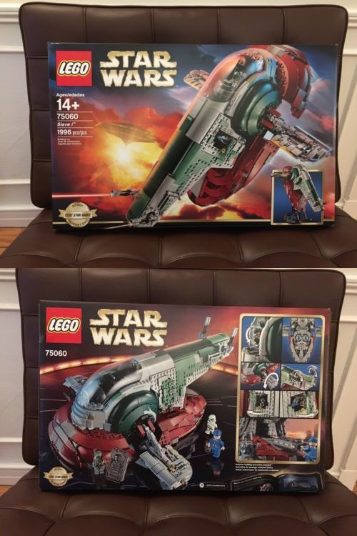 LEGO Complete Sets and Packs 19006: Lego Star Wars Slave 1 75060 Ultimate Collector Series Ucs New Sealed Boba Fett -> BUY IT NOW ONLY: $182.99 on eBay!