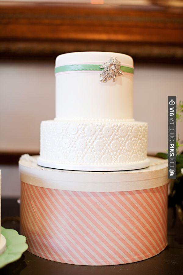 classic white wedding cake | CHECK OUT MORE IDEAS AT WEDDINGPINS.NET | #weddingcakes