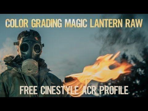 ▶ Color Grading Magic Lantern Raw Video (Free Cinestyle ACR Preset) - YouTube