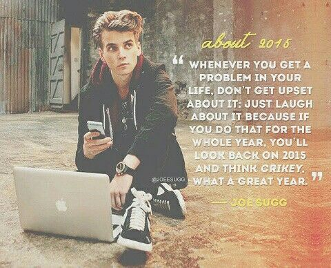 Joe sugg • thatcherjoe • quote