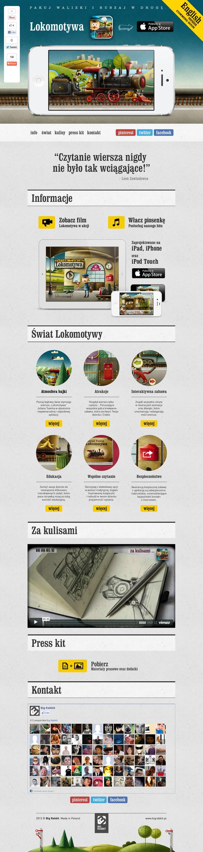 http://lokomotywa.bigrabbit.pl    #Lokomotywa - Julian Tuwim, #aplikacja na #iPhone, #iPad, #iPod Touch     #Locomotive - Julian Tuwim, #iPhone, #iPad, #iPod Touch #iOS #App