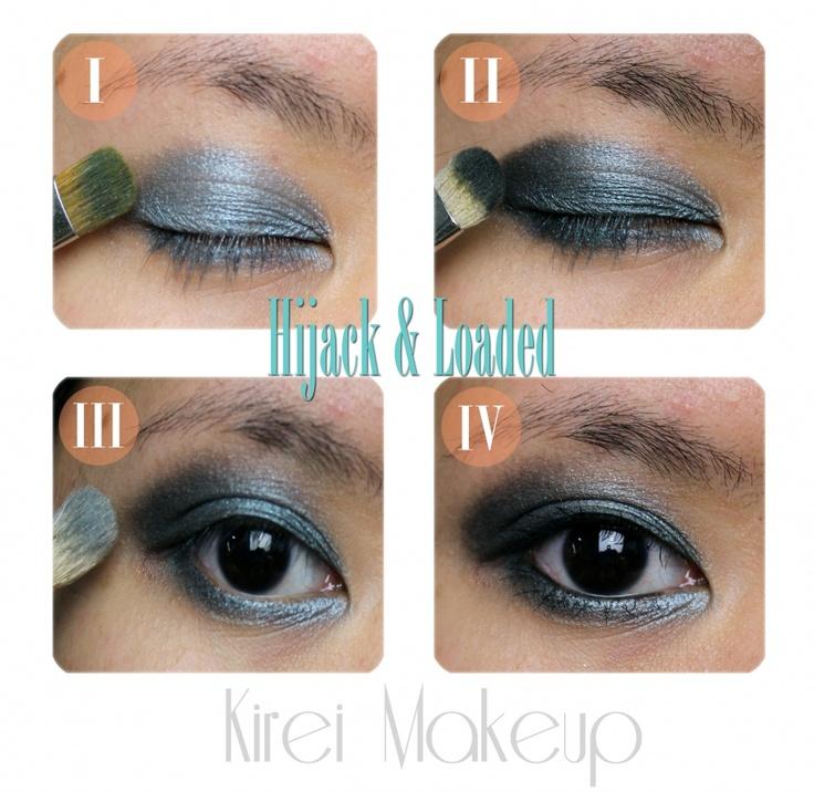 Urban Decay Hijack & Loaded (tutorial) « Kirei: Makeup Tutorials, Makeup Inspiration, Teaching People, Urban Decay, Dramatic Eye, Decay Hijack, Colors, Smokey Eye, Loaded Tutorials