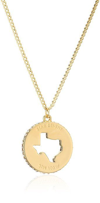 Dont mess with texas 837 pinterest kate spade new york state of mind texas pendant necklace mozeypictures Images