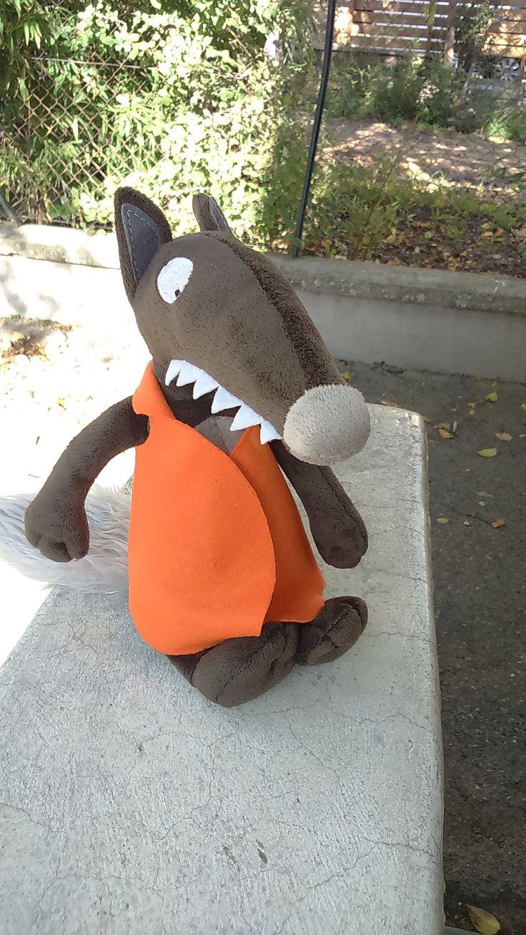 la Fouine en clis - vestes, tenues pour chaque jour du loup qui voulait changer de couleur. le patron à imprimer !