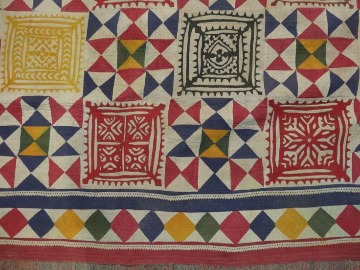 ralli quilts /vintage rallis craft of rajasthan and gujrat/applique