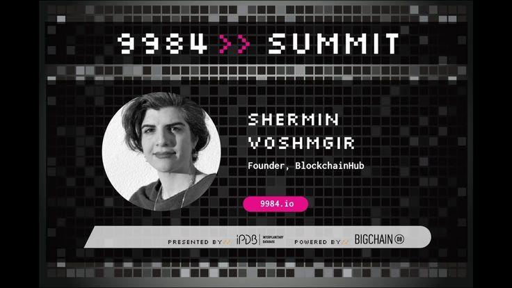 Shermin Voshmgir, BlockchainHub | Privacy in the Machine Age https://www.youtube.com/watch?v=r67q8ZFjsdA