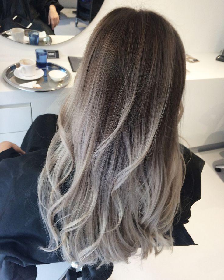 Natural Grey Hair Balayage