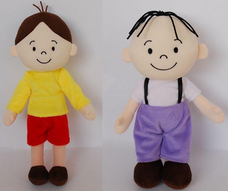Bolek i Lolek zestaw maskotek mniejszych #bolekilolek #bolekandlolek