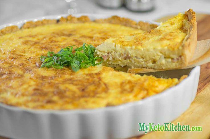 Low Carb Quiche Lorraine | Recipe | Bacon, Quiche and Eggs