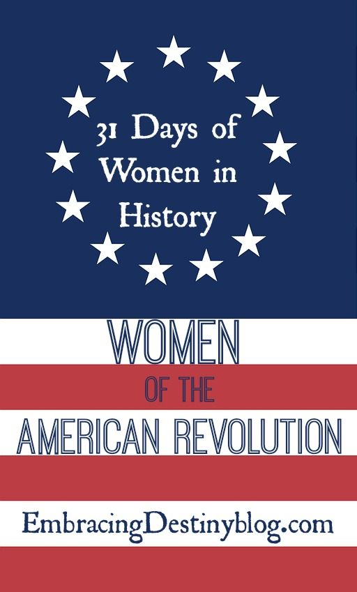 9 Women Who Helped Win the American Revolution