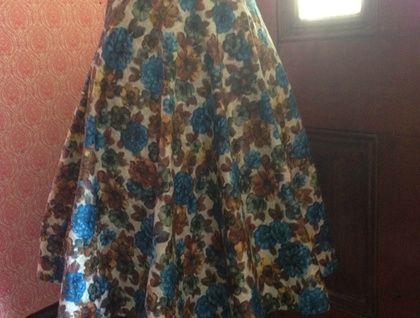Retro+Vintage+Inspired+Skirt