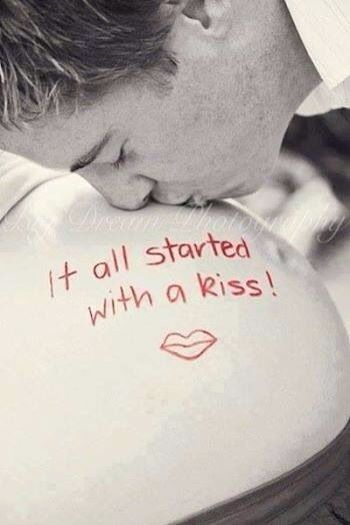 It all started with a kiss