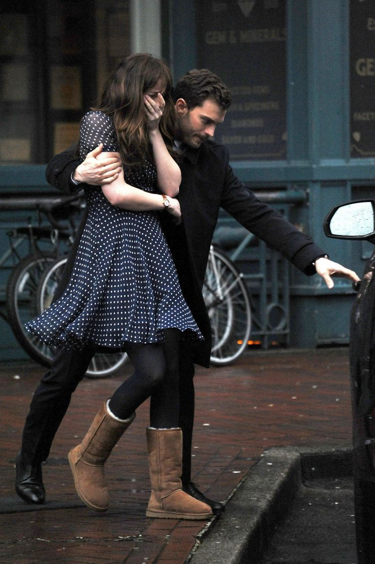 Jamie Dornan And Dakota Johnson Just Filmed Fifty Shades Darker's Most Cringe-Worthy Scene