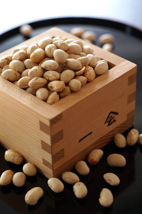 節分の豆-setsebun-soy beans for casting devils out of the house