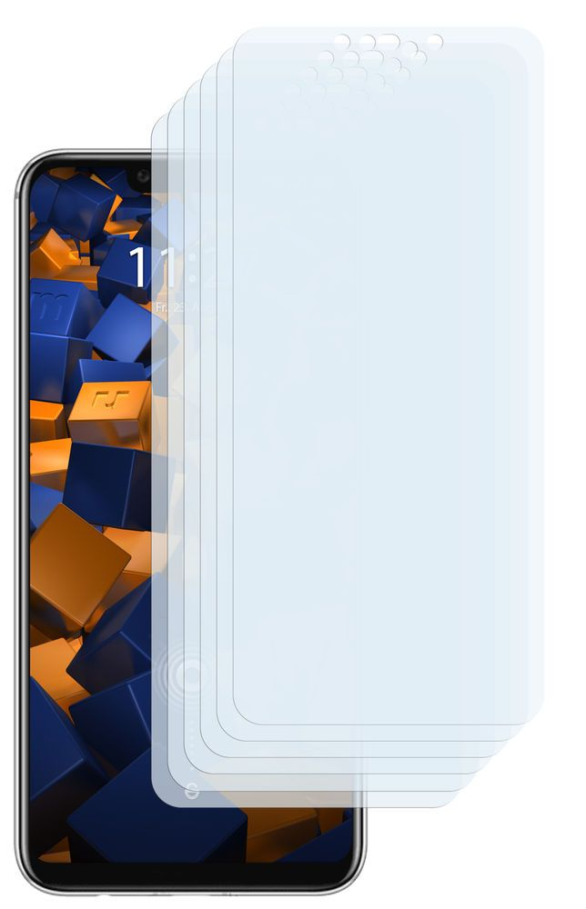 mumbi 6x Folie für Huawei Mate 20 Lite Schutzfolie klar - folie für badezimmerfenster