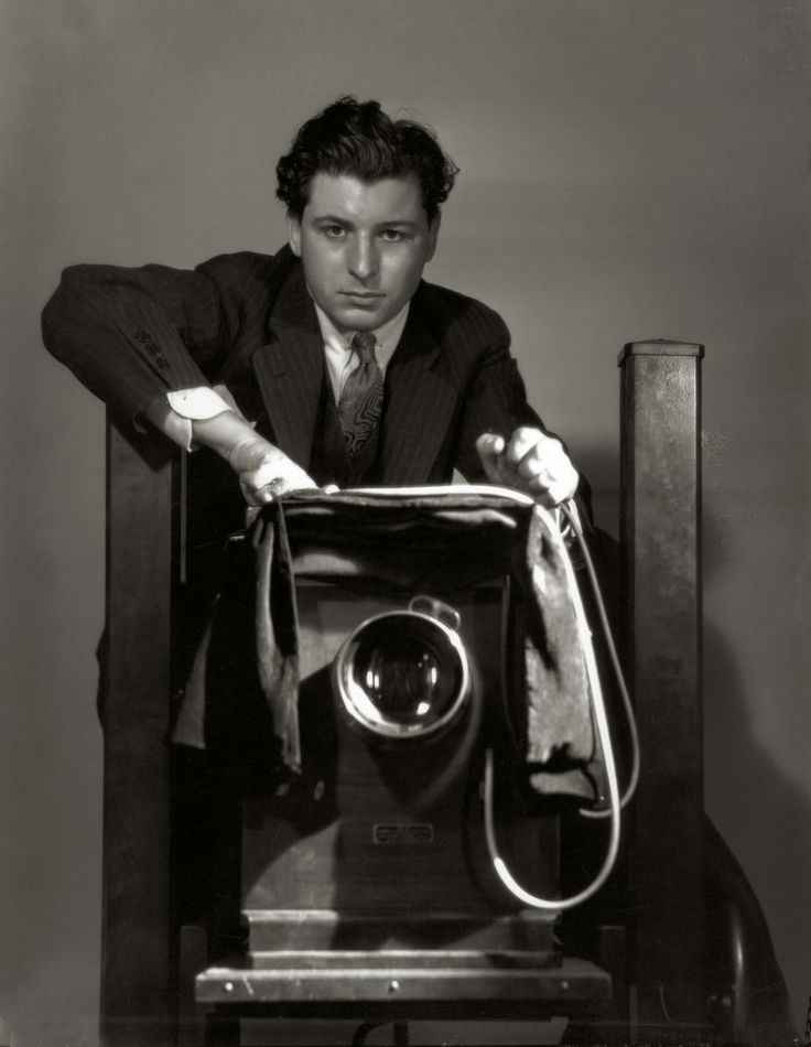 George Hurrell self portrait; courtesy of Pancho Barnes Trust Estate Archive, © Estate of #GeorgeHurrell.