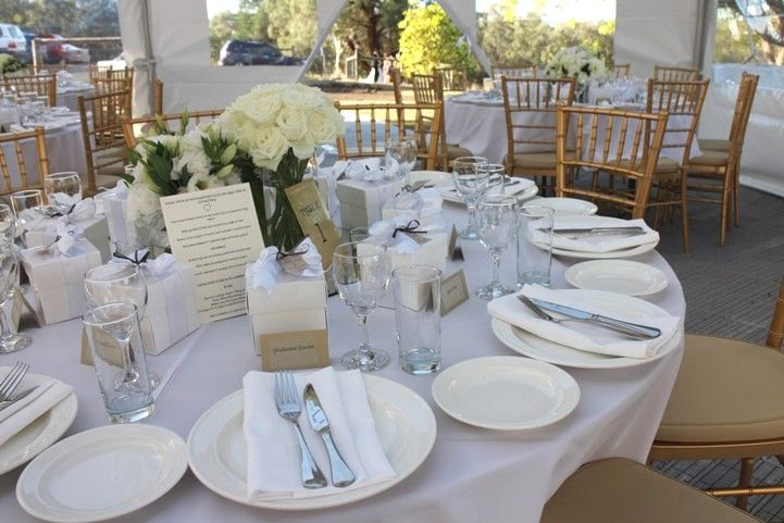 Wedding Marquees stocks only the highest quality wedding crockery that we guarantee will compliment your wedding or celebration.