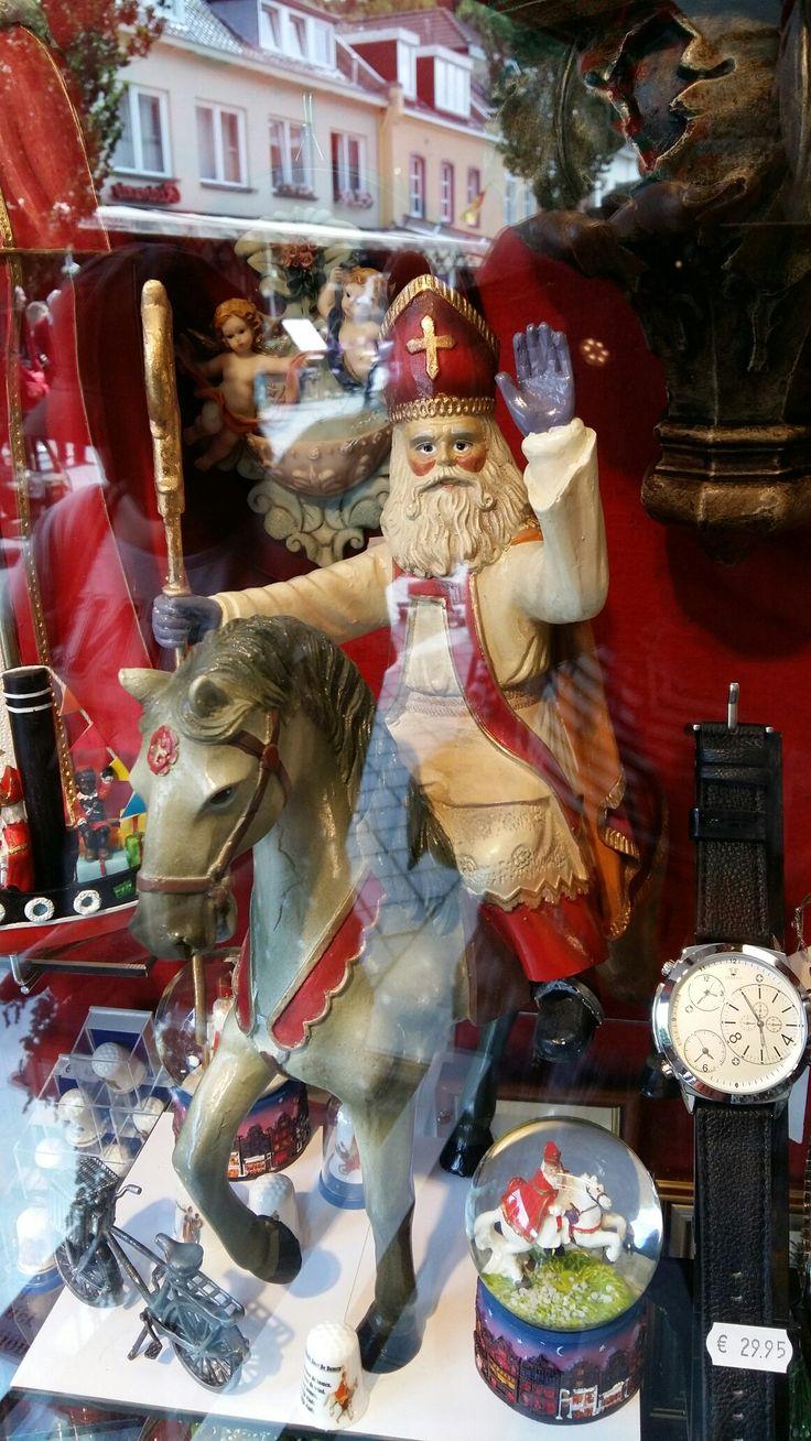 Sinterklaas op paard, decoratie