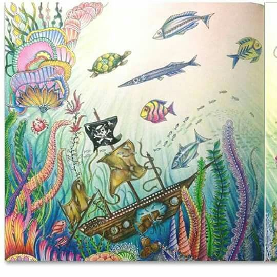 Lost Ocean Adult ColoringColoring BooksJoanna